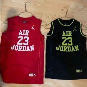 Air Jordan Tanks Small and Med